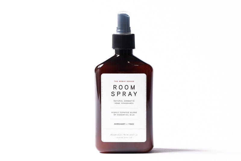 Manready Mercantile Bergamot Teak Room Spray Made in USA