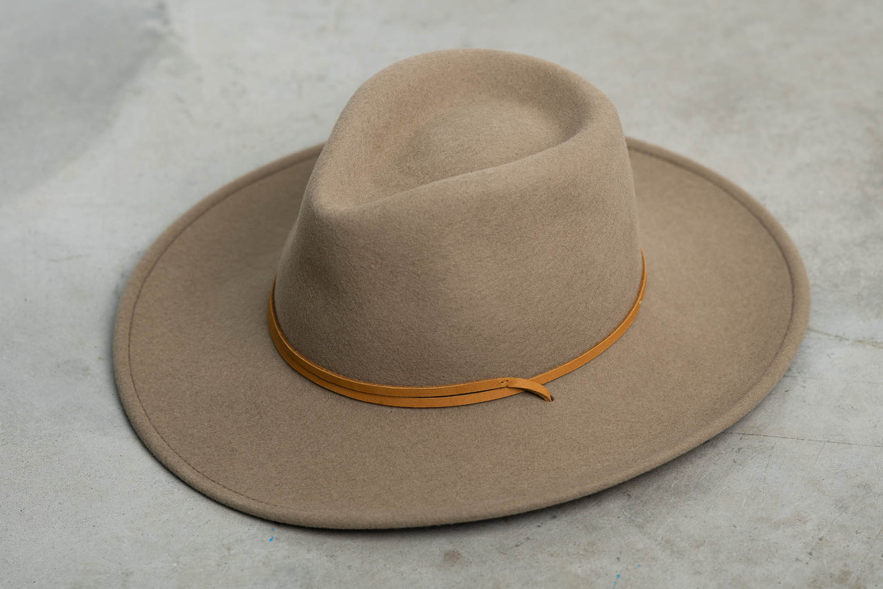 Lasso Outdoor Crushable | Mushroom | Seager Co. x Stetson