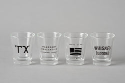Shot Glass | Three Potato Four X Manready Mercantile