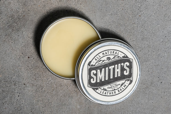 All Natural Leather Balm | Smith's - Manready Mercantile
