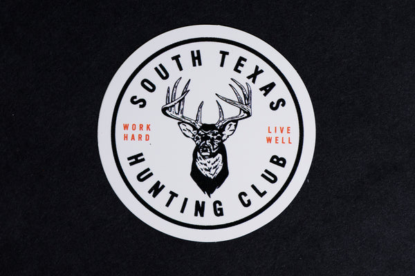Sticker | South Texas Hunting Club | Manready Mercantile - Manready Mercantile