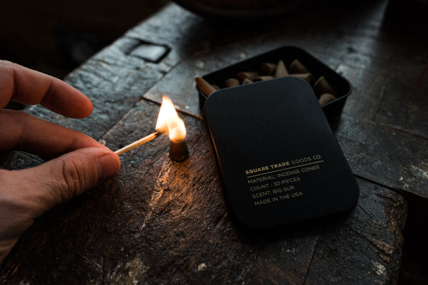 Incense Cones | Square Trade Goods Co.
