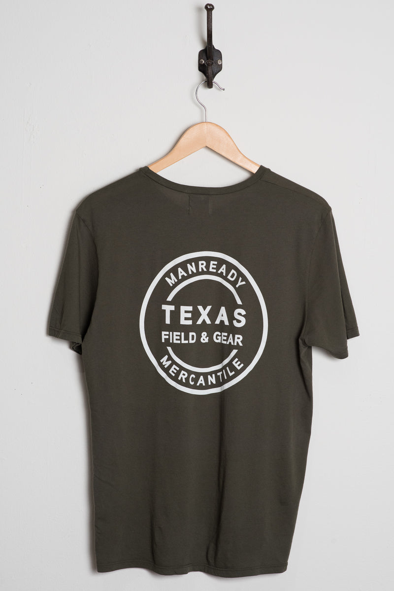 Graphic Tee | Texas Field & Gear | Green | Manready Mercantile
