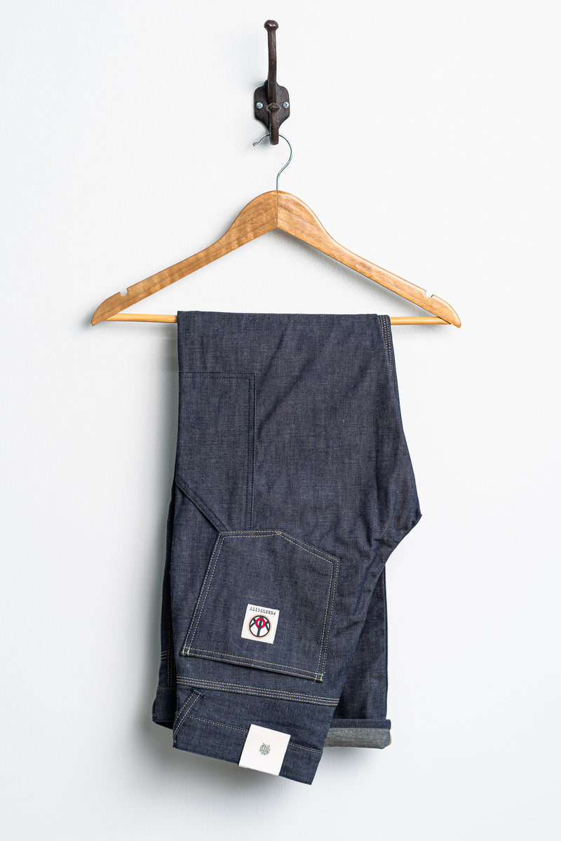 Wendell Denim Workpants | 10 oz. Unwashed | Indigofera x Coyote Thunder