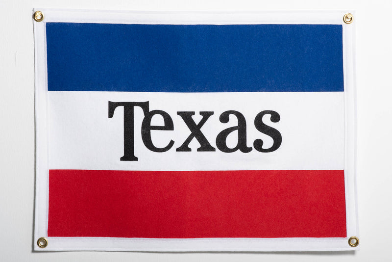 Banner | Texas Flag | Oxford Pennant x Manready Mercantile