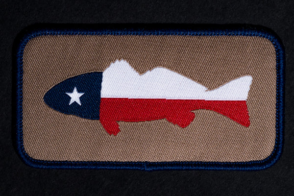 Patch | TX Flag Fish | Manready Mercantile