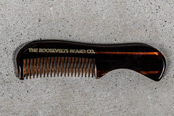 Small Mustache Comb | The Roosevelts Beard Company