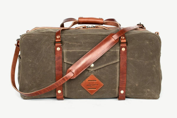 The Ranger Duffle | Field Tan | Bradley Mountain - Manready Mercantile