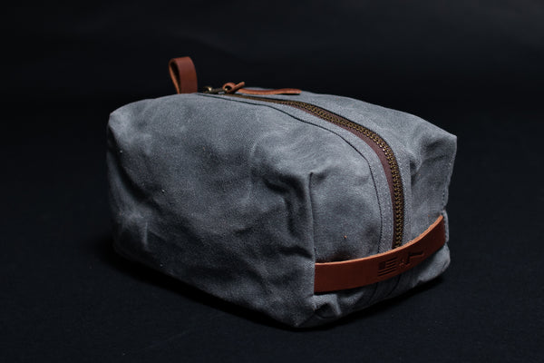 Waxed Canvas Dopp Kit | Manready Mercantile x Bradley Mountain