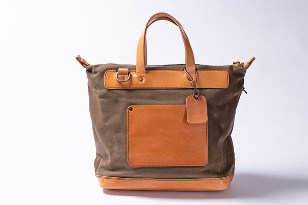 vermilyea pelle day bag ranger tan and brown bag manready mercantile