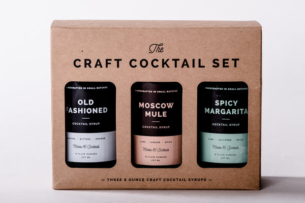 The Craft Cocktail Set | W&P Designs - Manready Mercantile