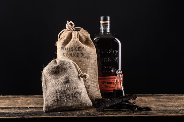 Whiskey Soaked Campfire Jerky Bulleit Bourbon Texas Black Angus Beef Manready Mercantile