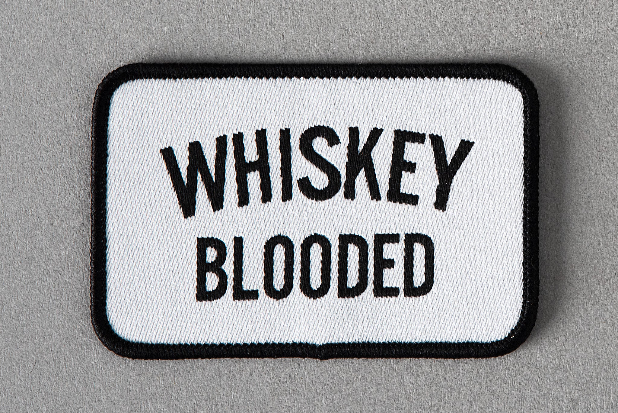 Whiskey Blooded | Patch | Manready Mercantile