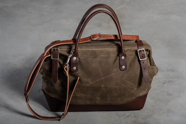 Carpenter Bag | Olympic Moss | Wood & Faulk