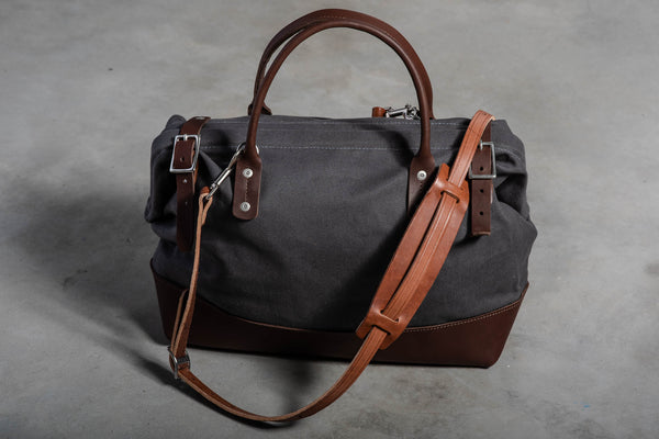 Carpenter Bag | North Coast Grey | Wood & Faulk