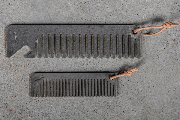 Stainless Steel Beard Comb | Woodnsteel
