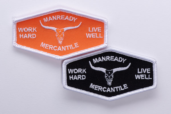 Work Hard Live Well | Patch | Manready Mercantile