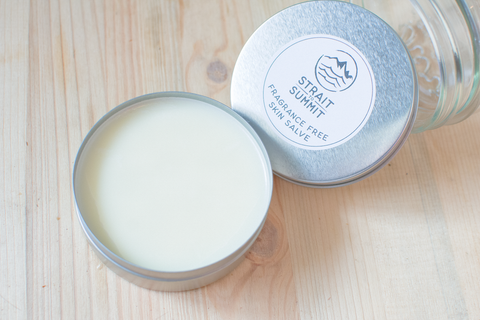 fragrance free nose and skin salve