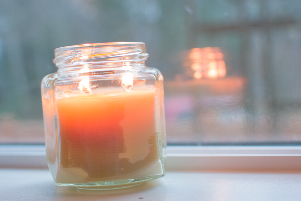 natural tallow candle