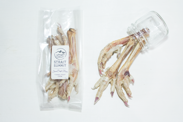 stonecroft farm turkey foot chew