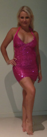 #m007 Sequin Mini Dress