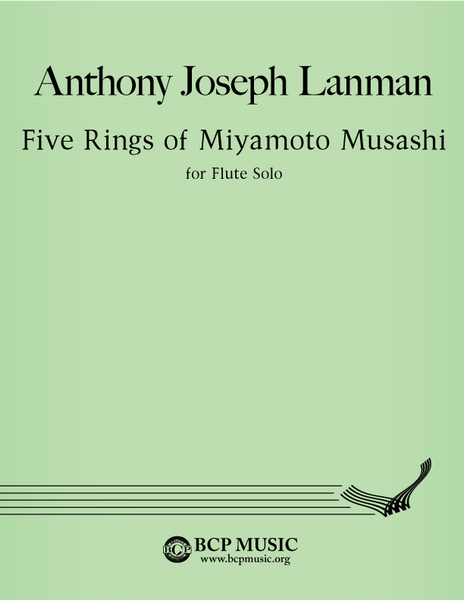 Anthony Joseph Lanman - Five Rings of Miyamoto Musashi