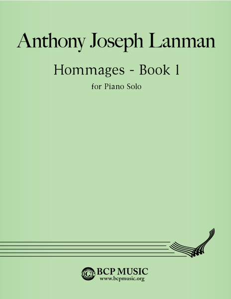 Anthony Joseph Lanman - Hommages - Book 1