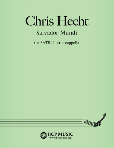 Christopher Hecht - Salvator Mundi