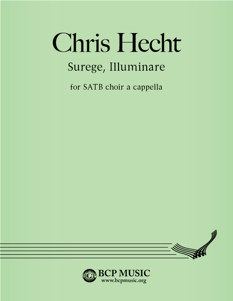 Christopher Hecht - Surge, Illuminare