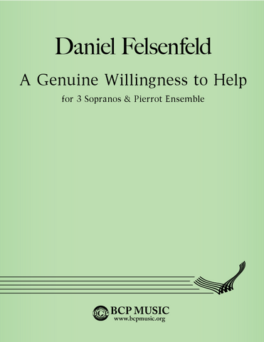 Daniel Felsenfeld - A Genuine Willingness to Help
