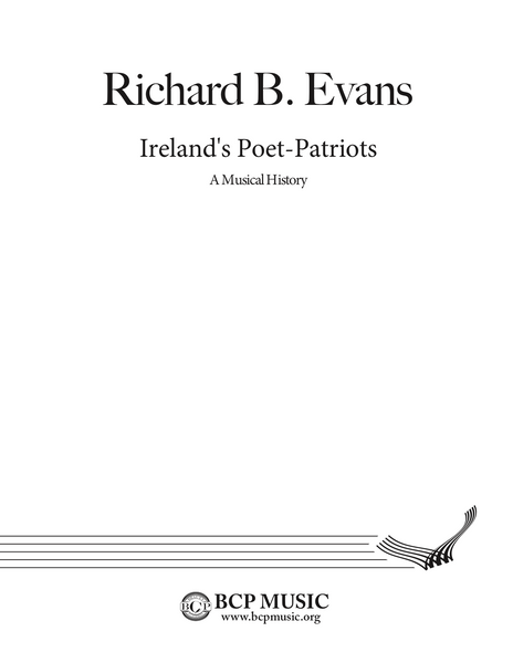 Richard B. Evans - Ireland's Poet-Patriots