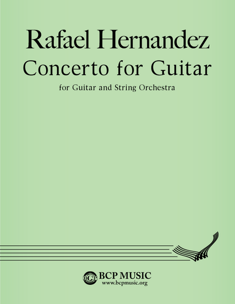 Rafael Hernandez - Concerto for Guitar