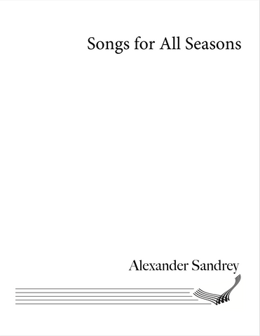 Alexander Sandrey - Songs for All Seasons