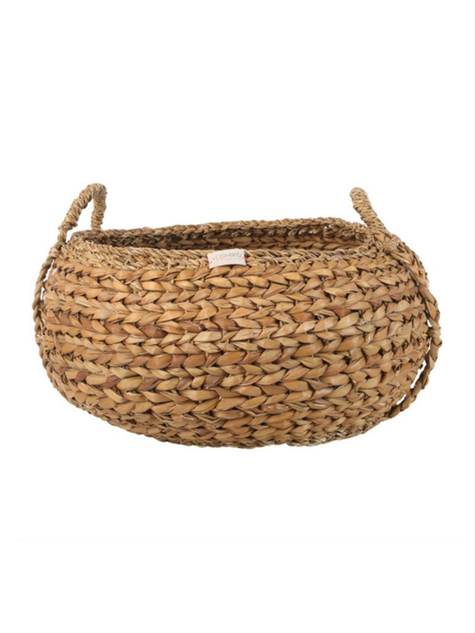 Set of 2 Kamala Seagrass Round Baskets - Natural