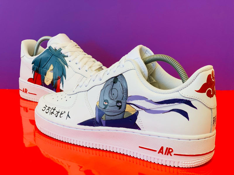 custom air force 1 Air Force one custom  Custom nike  Chaussures personnalisée Customiser chaussures  Air Force one comme des garçons  Customiser basket  Basket personnalisée  Personnaliser chaussures madara obito naruto