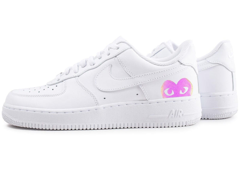custom air force 1 Air Force one custom  Custom nike  Chaussures personnalisée Customiser chaussures  Air Force one comme des garçons  Customiser basket  Basket personnalisée  Personnaliser chaussures reflective 3m