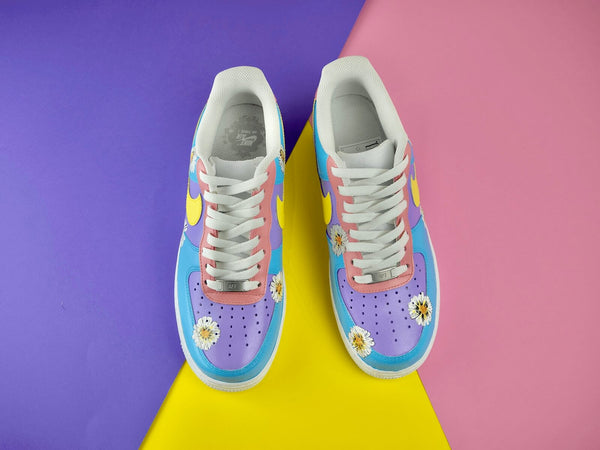 custom air force 1 Air Force one custom  Custom nike  Chaussures personnalisée Customiser chaussures  Air Force one comme des garçons  Customiser basket  Basket personnalisée  Personnaliser chaussures Adidas stan smith pastel flower