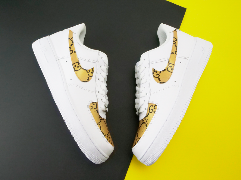 Air Force 1 : #GOLD GUCCI – CUSTOMSTORE
