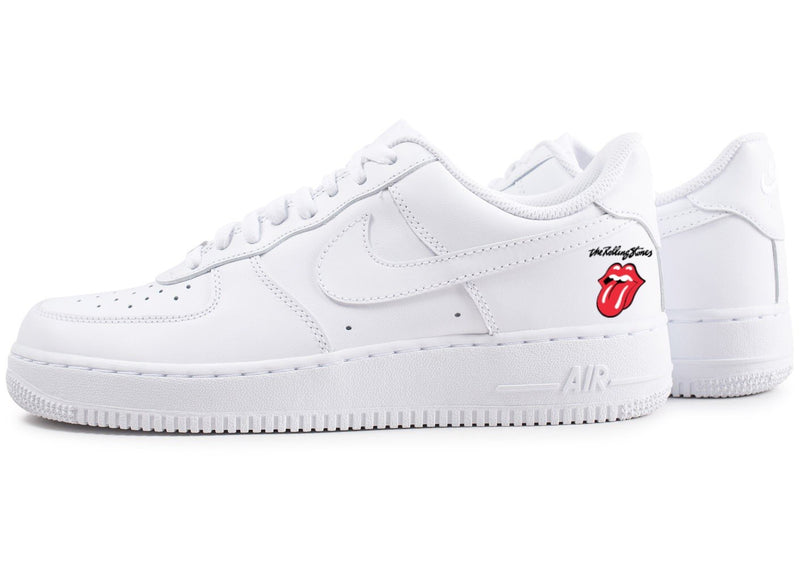 custom air force 1 Air Force one custom  Custom nike  Chaussures personnalisée Customiser chaussures  Air Force one comme des garçons  Customiser basket  Basket personnalisée  Personnaliser chaussures rolling stones
