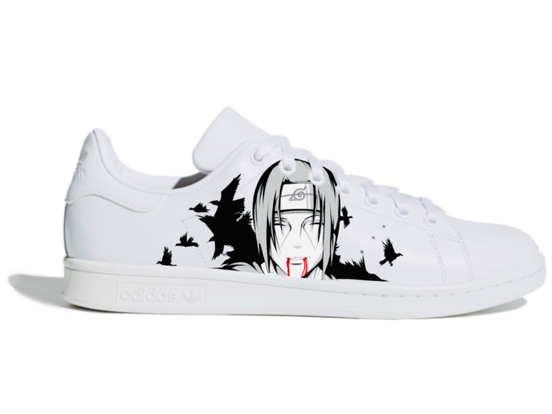 custom air force 1 Air Force one custom  Custom nike  Chaussures personnalisée Customiser chaussures  Air Force one comme des garçons  Customiser basket  Basket personnalisée  Personnaliser chaussures Adidas stan smith naruto itachi