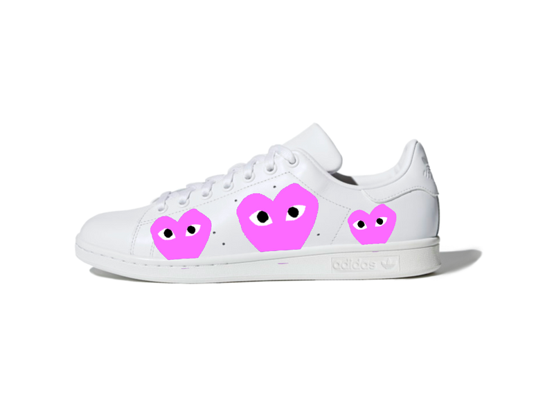 Adidas Stan Smith : #CommeDesGarçons