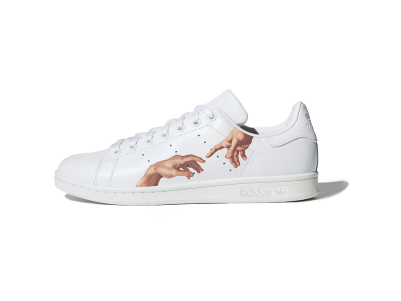 custom air force 1 Air Force one custom  Custom nike  Chaussures personnalisée Customiser chaussures  Air Force one comme des garçons  Customiser basket  Basket personnalisée  Personnaliser chaussures Adidas stan smith creation of adam