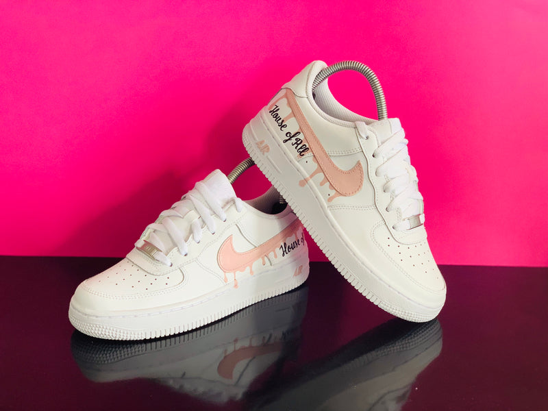 Air Force 1 : #DrippingSwoosh (créé pour ROUBABA) – CUSTOMSTORE