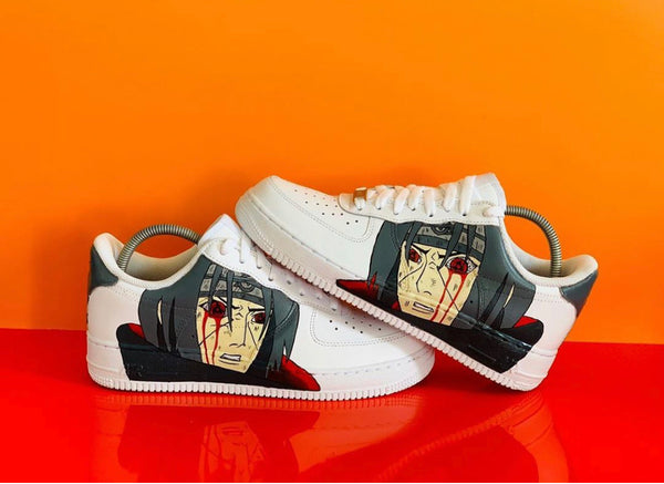 custom air force 1 Air Force one custom  Custom nike  Chaussures personnalisée Customiser chaussures  Air Force one comme des garçons  Customiser basket  Basket personnalisée  Personnaliser chaussures itachi naruto