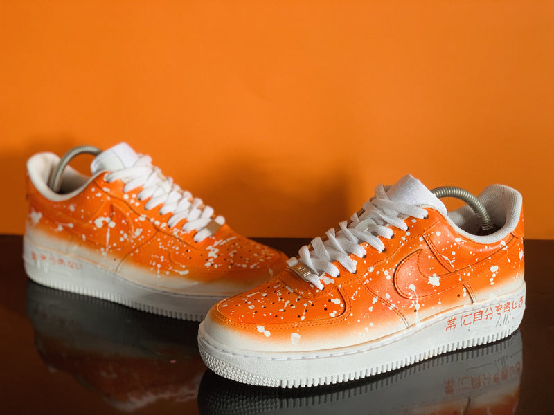 chaussure air force 1 orange