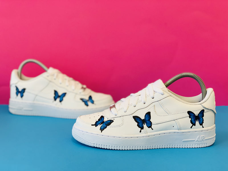 AIR FORCE 1 : #BLUE BUTTERFLY – CUSTOMSTORE