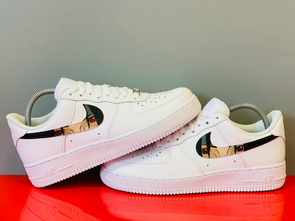 custom air force 1 Air Force one custom Custom nike Chaussures personnalisée Customiser chaussures Air Force one comme des garçons Customiser basket Basket personnalisée Personnaliser chaussures naruto itachi