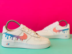 custom air force 1 Air Force one custom  Custom nike  Chaussures personnalisée Customiser chaussures  Air Force one comme des garçons  Customiser basket  Basket personnalisée  Personnaliser chaussures Adidas stan smith drip swoosh