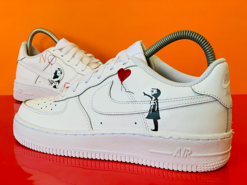 custom air force 1 Air Force one custom  Custom nike  Chaussures personnalisée Customiser chaussures  Air Force one comme des garçons  Customiser basket  Basket personnalisée  Personnaliser chaussures Adidas stan smith banksy