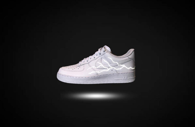 custom air force 1 Air Force one custom Custom nike Chaussures personnalisée Customiser chaussures Air Force one comme des garçons Customiser basket Basket personnalisée Personnaliser chaussures storm reflective 3m
